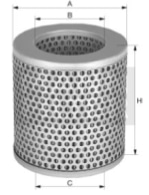 filtro aria cilindrico a cartuccia Energy Solution